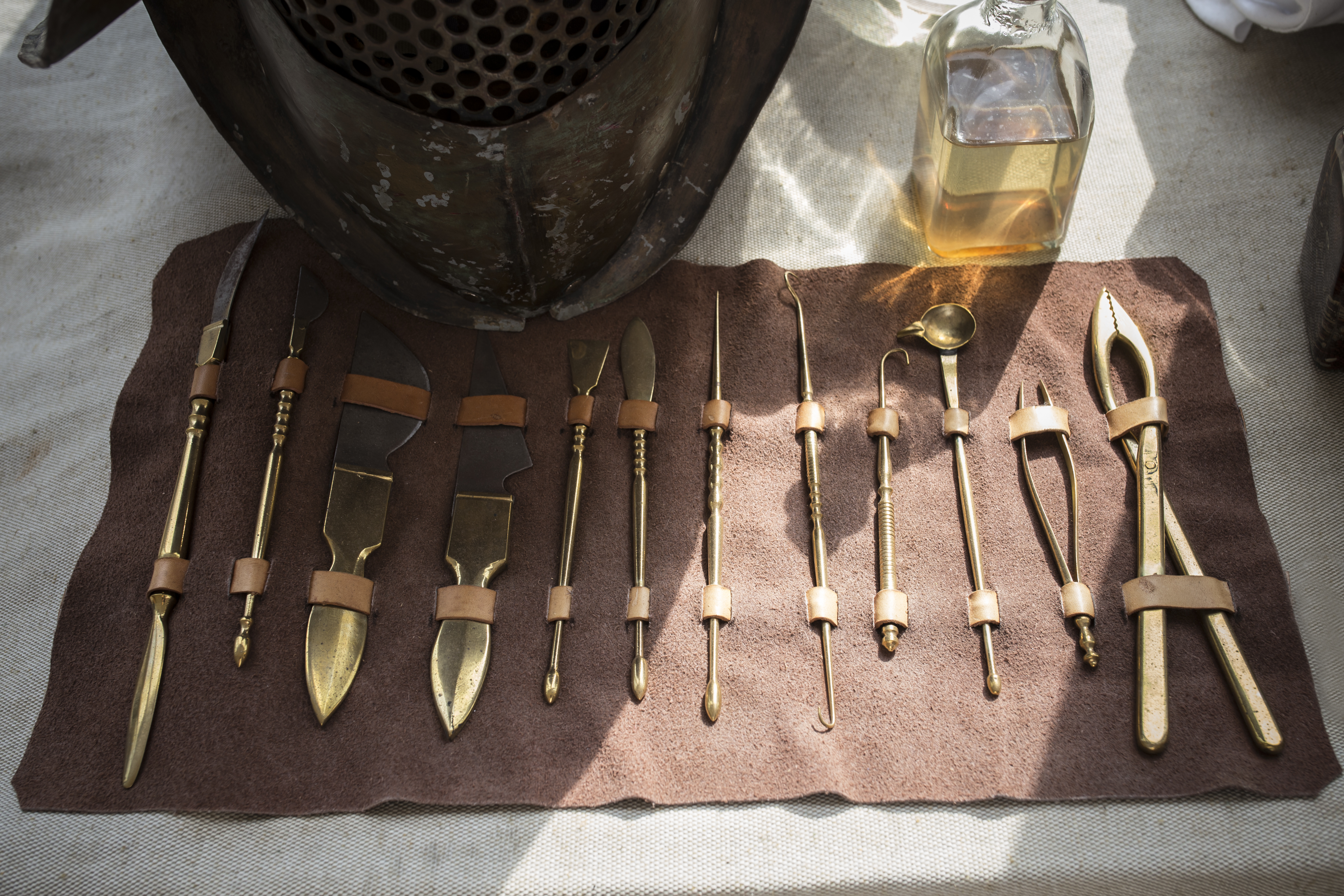 Set of old medical, surgical instruments illustrating past medical practices | Healthcare Roundup | Primaris