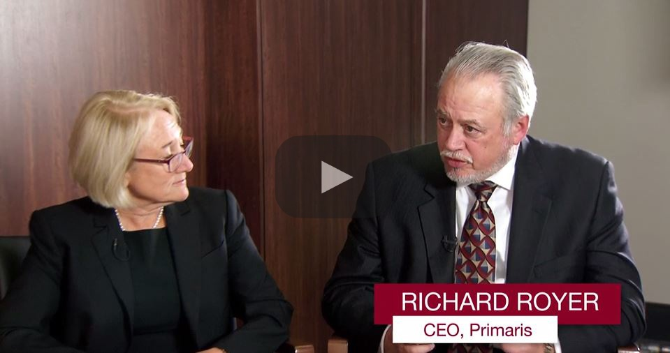 Changes that are under way in how the Centers for Medicare and Medicaid Services (CMS) pays for patient care – and penalizes physicians and health systems that fall short of new regulations – were among the topics that Primaris CEO Richard A. Royer discusses in a new Business of Healthcare video interview.