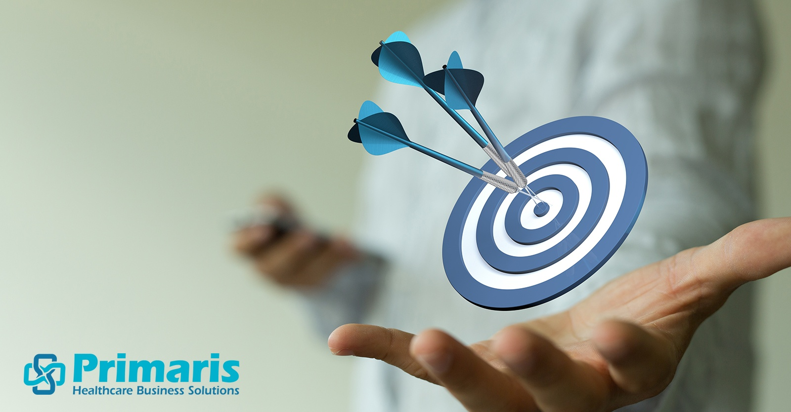Three darts hit the bull's-eye, illustrating the Triple Aim of healthcare quality improvement: better patient outcomes, better population health, lower cost. Core measures help achieve all three.