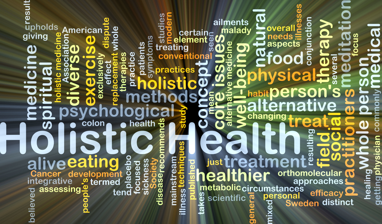 Health words holistic health