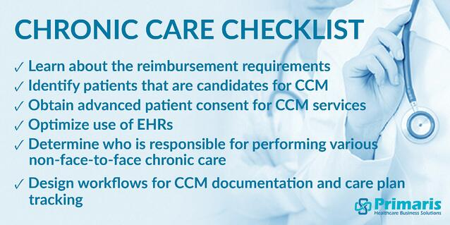 Primaris' Chronic Care Management Checklist