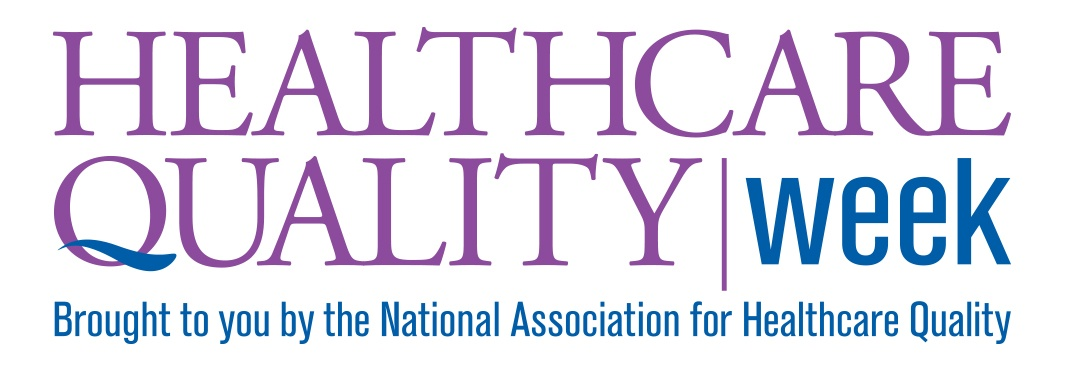 Logo for Healthcare Quality Week, with hashtag #HQW2017. At Primaris, quality is at the core of who we are and what we do.