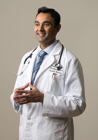 Quality Talk podcast guest, Dr. Suneel Dhand.