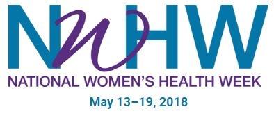 Logo for National Women's Health Week.