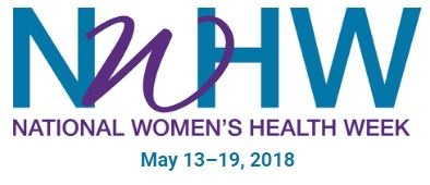 Logo for National Women's Health Week.